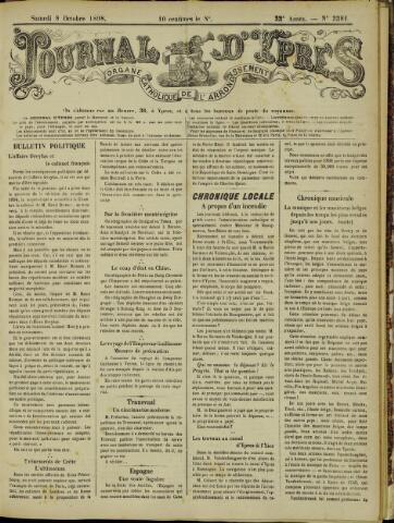 Journal d'Ypres (1874 - 1913) 1898-10-08