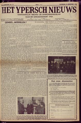 Het Ypersch nieuws (1929-1971) 1962-12-15