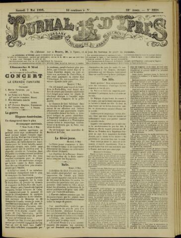 Journal d'Ypres (1874 - 1913) 1898-05-07