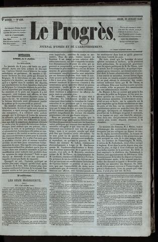 Le Progrès (1841-1914) 1847-07-22