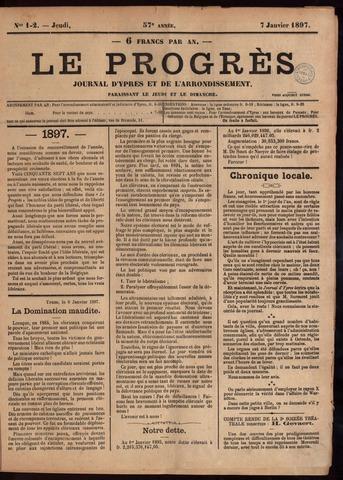 Le Progrès (1841-1914) 1897-01-07