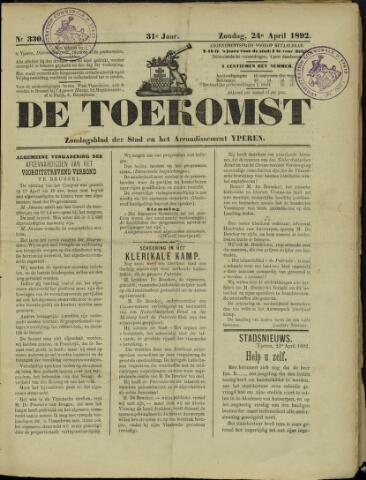 De Toekomst (1862 - 1894) 1892-04-24