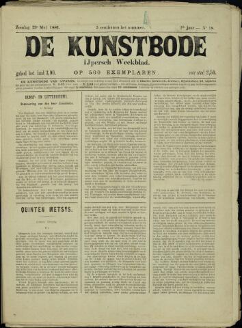 De Kunstbode (1880 - 1883) 1881-05-29