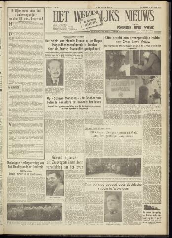 Het Wekelijks Nieuws (1946-1990) 1954-10-16