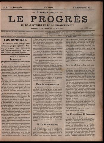 Le Progrès (1841-1914) 1897-11-14