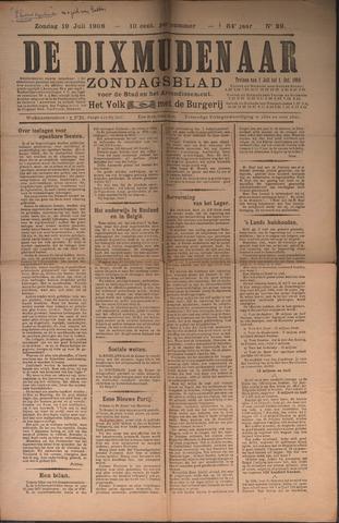 De Dixmudenaar 1907-07-19
