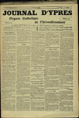 Journal d'Ypres (1874 - 1913) 1912-04-20