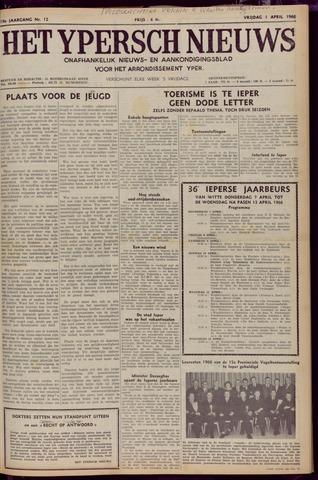 Het Ypersch nieuws (1929-1971) 1966-04-01