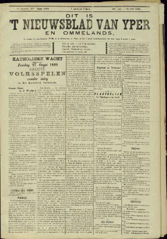 Nieuwsblad van Yperen en van het Arrondissement (1872 - 1912) 1899-08-19