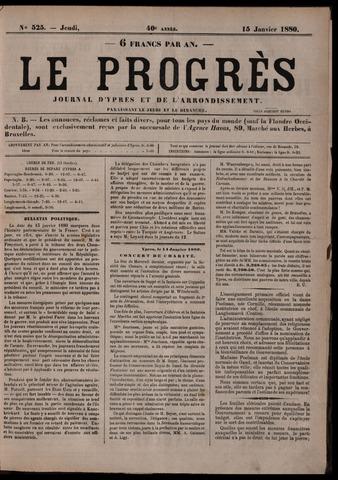 Le Progrès (1841-1914) 1880-01-15