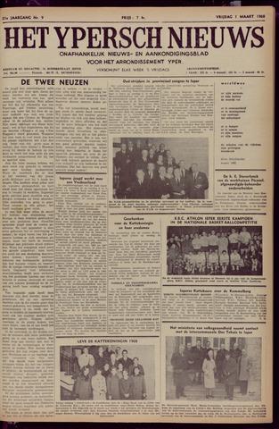 Het Ypersch nieuws (1929-1971) 1968-03-01