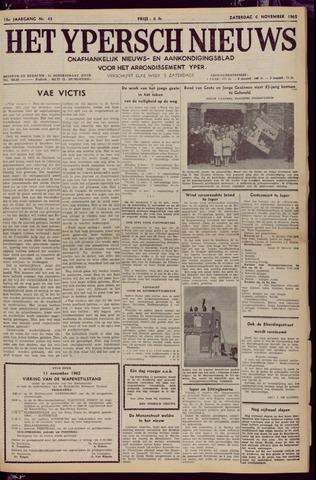 Het Ypersch nieuws (1929-1971) 1965-11-06