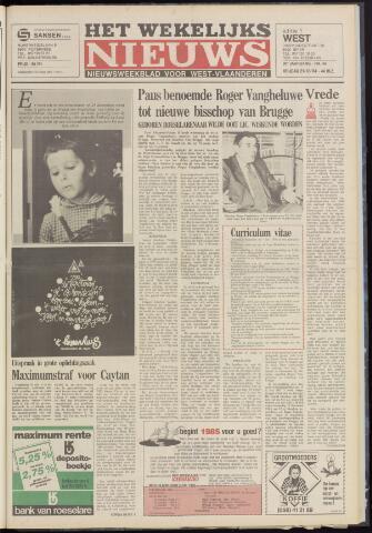 Het Wekelijks Nieuws (1946-1990) 1984-12-21