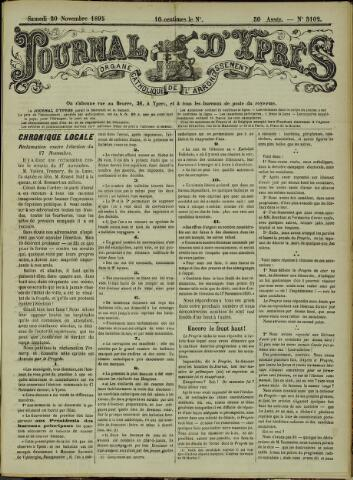 Journal d'Ypres (1874 - 1913) 1895-11-30