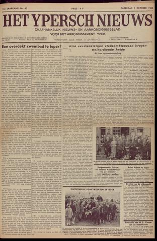Het Ypersch nieuws (1929-1971) 1963-10-05
