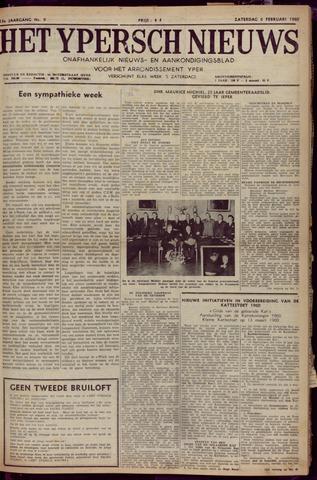 Het Ypersch nieuws (1929-1971) 1960-02-06