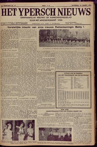 Het Ypersch nieuws (1929-1971) 1963-03-16