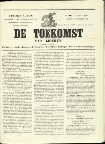 De Toekomst (1862 - 1894) 1871-12-03