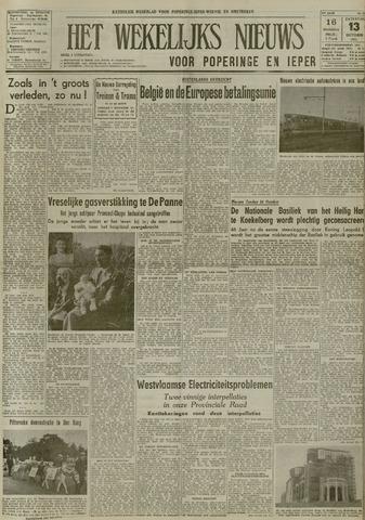 Het Wekelijks Nieuws (1946-1990) 1951-10-13