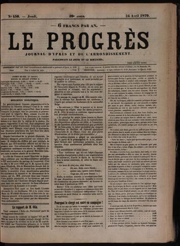 Le Progrès (1841-1914) 1879-04-24