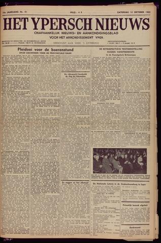 Het Ypersch nieuws (1929-1971) 1963-10-12