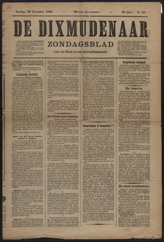 De Dixmudenaar 1885
