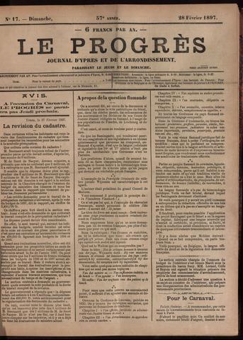 Le Progrès (1841-1914) 1897-02-28