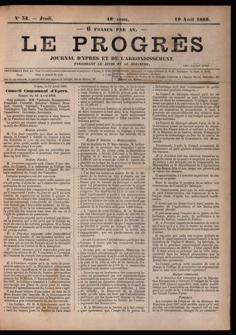 Le Progrès (1841-1914) 1888-04-19
