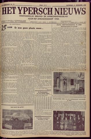 Het Ypersch nieuws (1929-1971) 1963-12-21
