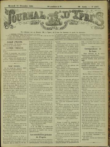 Journal d'Ypres (1874 - 1913) 1895-12-18