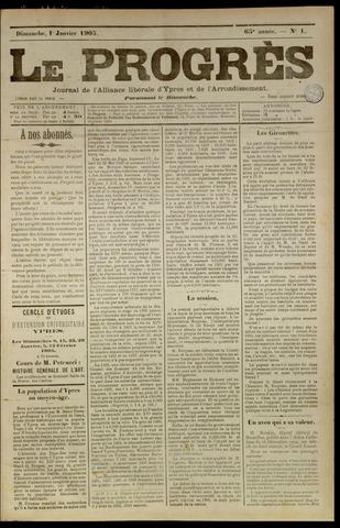 Le Progrès (1841-1914) 1905-01-01