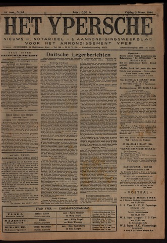 Het Ypersch nieuws (1929-1971) 1944-03-03