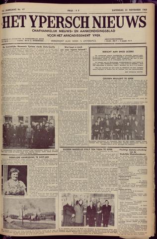 Het Ypersch nieuws (1929-1971) 1963-11-23