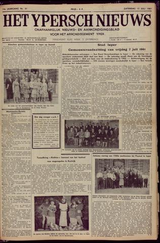 Het Ypersch nieuws (1929-1971) 1961-07-15