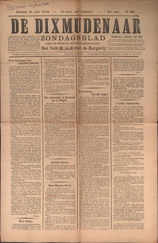 De Dixmudenaar 1908-07-19