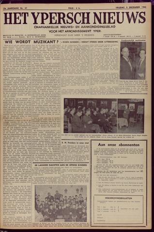 Het Ypersch nieuws (1929-1971) 1966-12-09