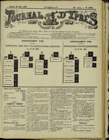 Journal d'Ypres (1874 - 1913) 1900-05-26