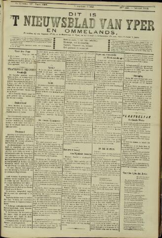 Nieuwsblad van Yperen en van het Arrondissement (1872 - 1912) 1902-03-22