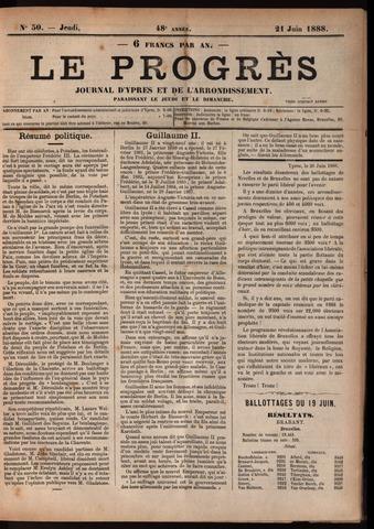 Le Progrès (1841-1914) 1888-06-21