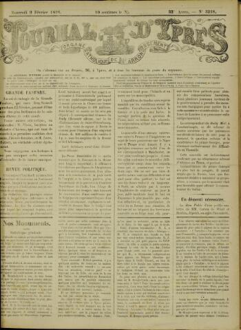 Journal d'Ypres (1874 - 1913) 1898-02-09