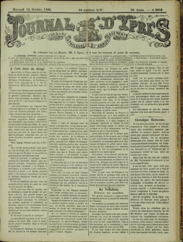 Journal d'Ypres (1874 - 1913) 1895-10-16