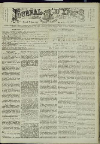 Journal d'Ypres (1874 - 1913) 1877-03-07