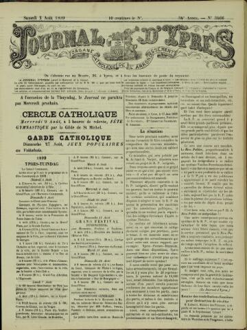 Journal d'Ypres (1874 - 1913) 1899-08-05