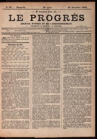 Le Progrès (1841-1914) 1888-11-25