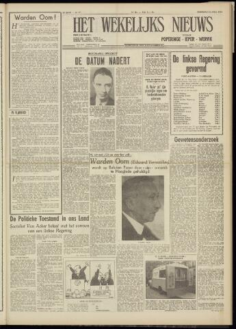 Het Wekelijks Nieuws (1946-1990) 1954-04-24