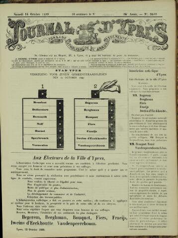 Journal d'Ypres (1874 - 1913) 1899-10-14