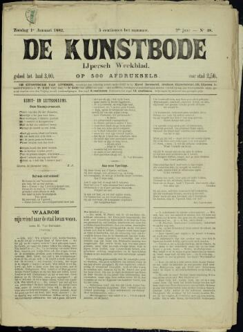 De Kunstbode (1880 - 1883) 1882-01-01