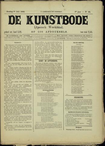 De Kunstbode (1880 - 1883) 1882-07-09