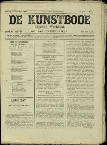 De Kunstbode (1880 - 1883) 1881-02-20