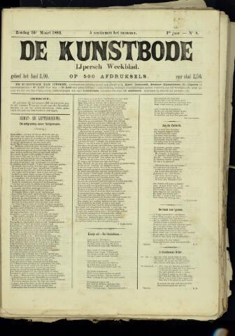 De Kunstbode (1880 - 1883) 1882-03-26